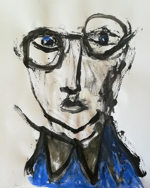 , 'Plus Bleu...,' 2018, Maison Depoivre