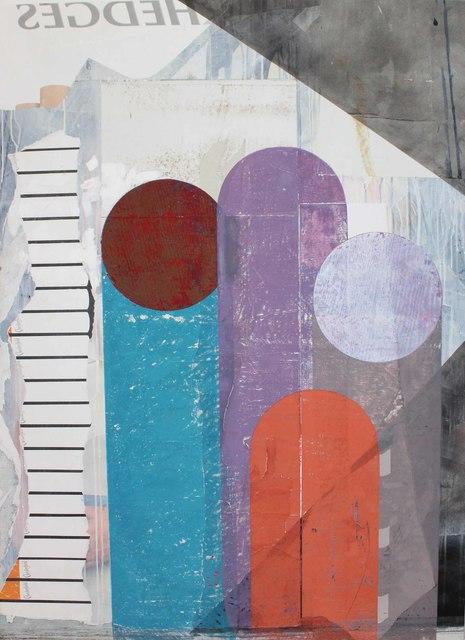 , 'o.T. (Familie, Flugzeug und Milieu),' 2018, Galerie Heike Strelow