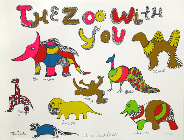 , 'The Zoo With You,' 1970, Nohra Haime Gallery