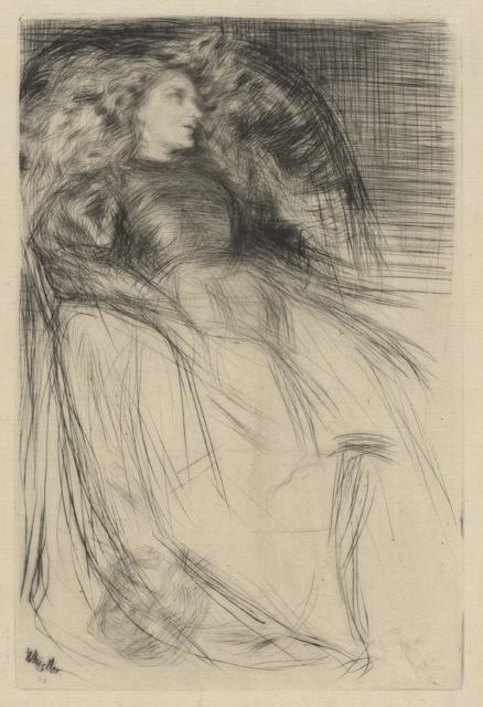 , 'Weary,' 1863, de Young Museum