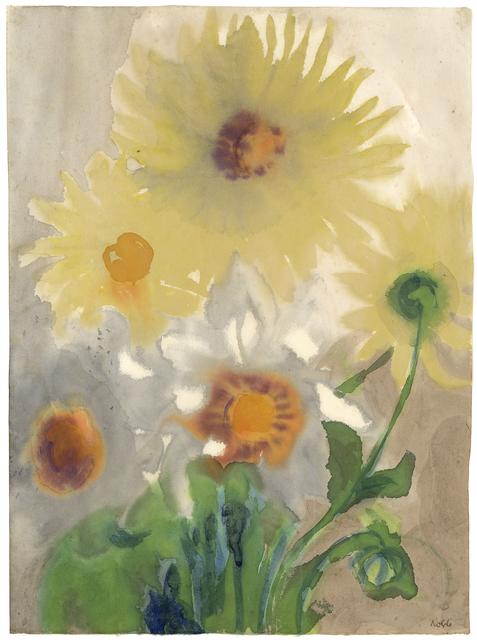 , 'Yellow Dahlias,' ca. 1930/35, Galerie Thomas