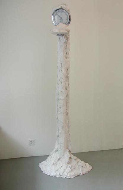 Christoph Rütimann, '2 Kilogramm 765 Gramm in Gips', 2005, Mai 36 Galerie