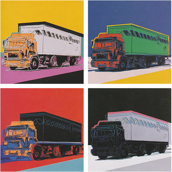, 'Truck, Complete Portfolio by Andy Warhol,' 1985, Revolver Gallery
