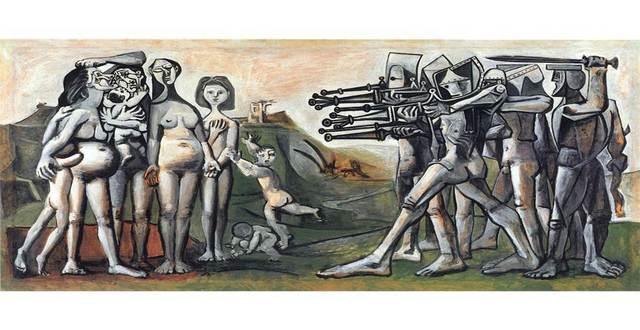, 'Massacre in Korea,' 1951, Centre for Fine Arts (BOZAR)