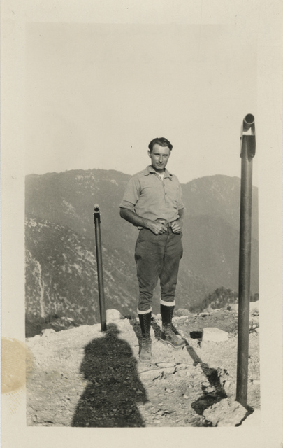 , 'Untitled [Shadow, man on the mountain],' , Fraenkel Gallery