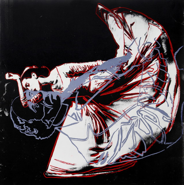 Andy Warhol, 'The Kick, Martha Graham and HC Andersen (Unique)', 1987, RoGallery