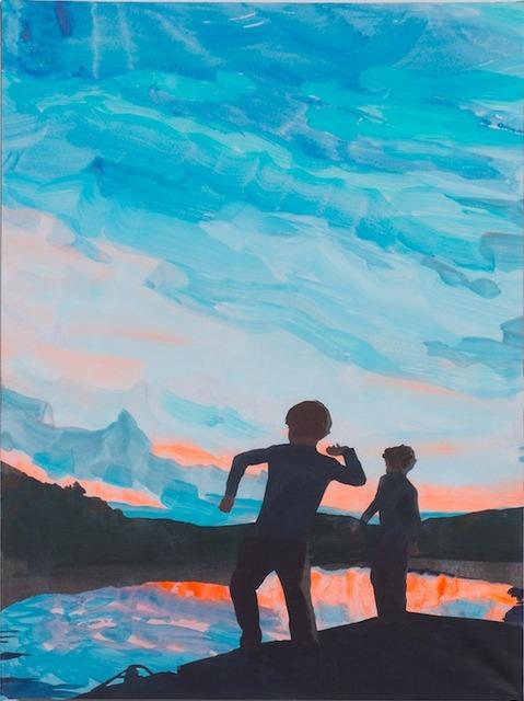 , 'Stones Throw,' 2015, De Buck Gallery
