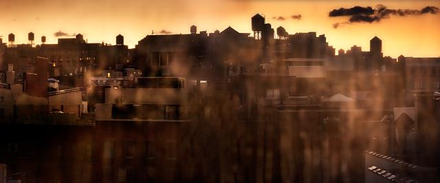 David Drebin, 'Dawn In New York', 2012, Contessa Gallery