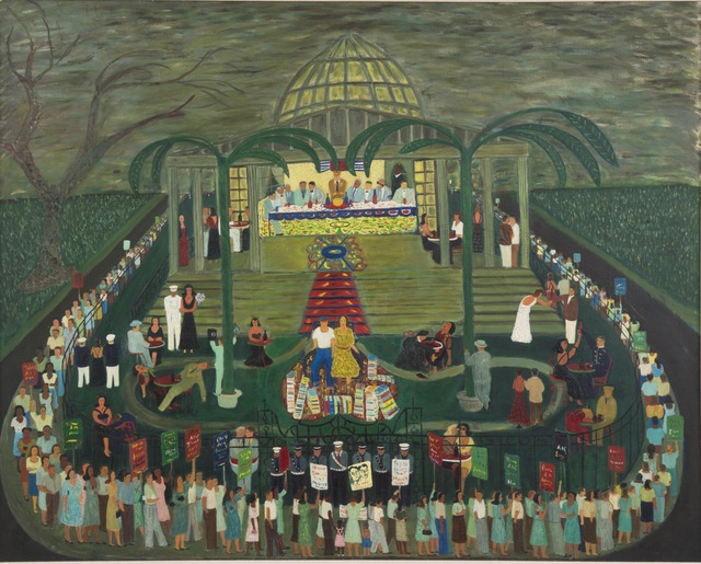 , 'McCarthy Era Garden Party,' 1954, Andrew Edlin Gallery