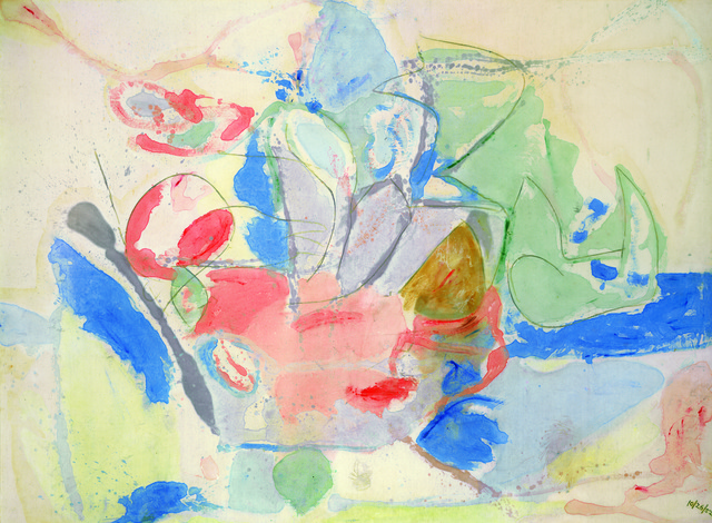 Helen Frankenthaler, 'Mountains and Sea,' 1952, Helen Frankenthaler Foundation