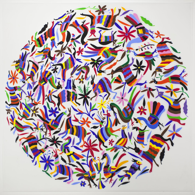 , 'Tenango (Rainbow),' 2013, Erin Cluley Gallery