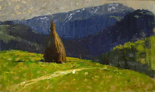 , 'Rolling Hills and Hay,' , Abend Gallery