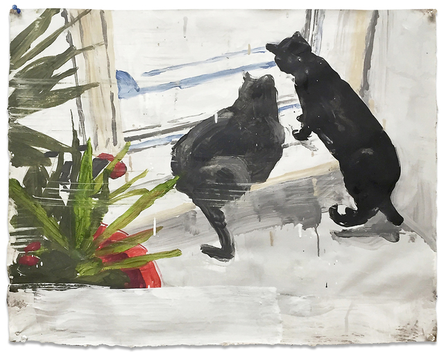 , 'Condo Cats,' 2015, Birch Contemporary