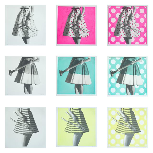 , 'Gender Gap Portfolio,' 2016, David Klein Gallery