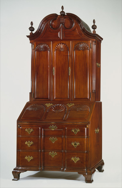 Unknown American, 'Desk and bookcase', 1760–1790, The Metropolitan Museum of Art