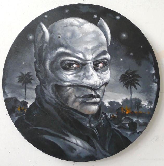 , 'Caribbean Batman,' 2016, Lyle O. Reitzel