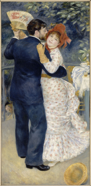 , 'Dance in the Country,' 1883, The National Gallery, London