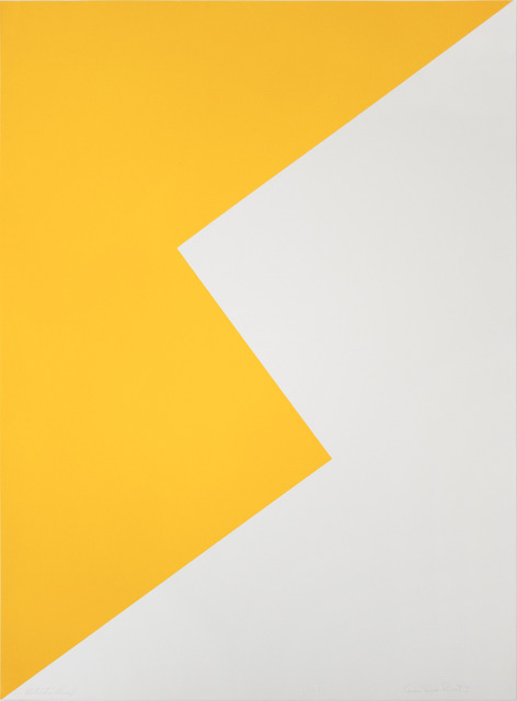 Leon Polk Smith, 'UNTITLED (TAMARIND K)', 1968, Lora Reynolds Gallery