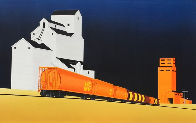 , 'Night Train,' 2016, SLATE Fine Art Gallery