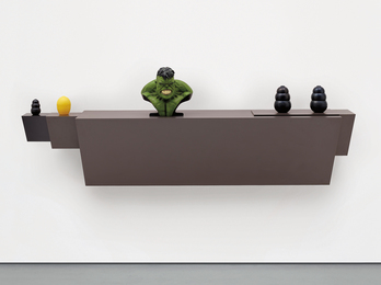 Haim Steinbach, 'Untitled (Hulk),' 2009, Phillips: 20th Century and Contemporary Art Day Sale (February 2017)