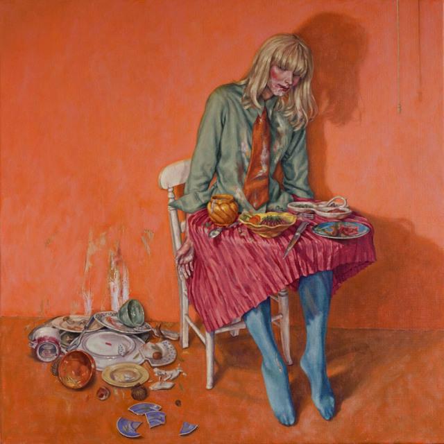 Roxana Halls, 'Girl Table', 2014, Reuben Colley Fine Art
