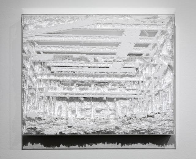 , 'Foto-topografía/ Photo-topography (Cuatro Caminos),' 2012, Galleria Continua