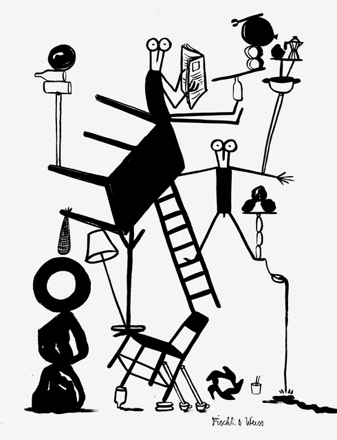 , 'Fischli & Weiss (Artstars series),' 2014, MLF | MARIE-LAURE FLEISCH
