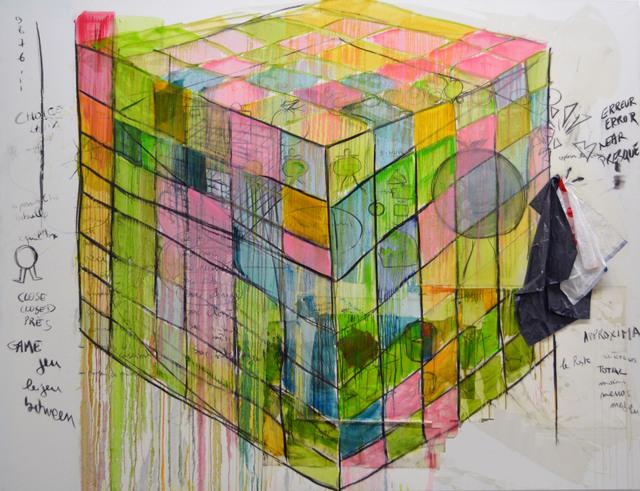 , 'Jeu impossible,' 2016-2017, Galerie Nathalie Obadia