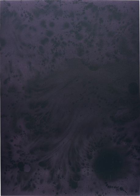 Sayre Gomez, 'Untitled Painting in Purple on Purple', 2014, Phillips