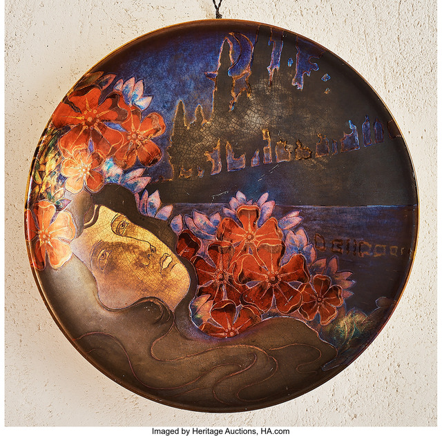Unknown Artist, 'Ophelia Charger', 1900, Heritage Auctions