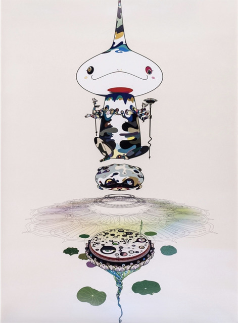 Takashi Murakami, 'Reversed Double Helix', 2005, Print, Offset lithograph, MSP Modern