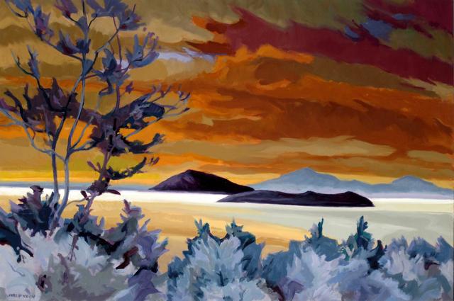 , 'West from Monhegan,' 2011, Edward Hopper House