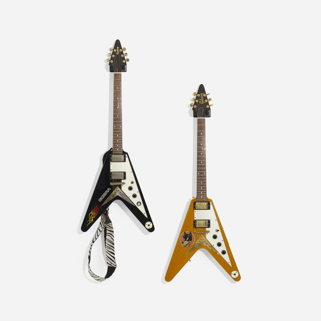 Gibson, 'Flying V Electric Guitars, Set of Two', c. 1970, Wright