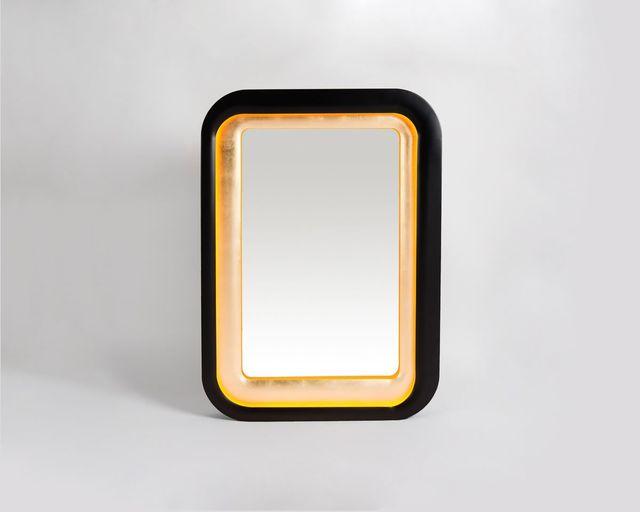 ", '""Tyché"" mirror,' 2014, Maison Gerard"