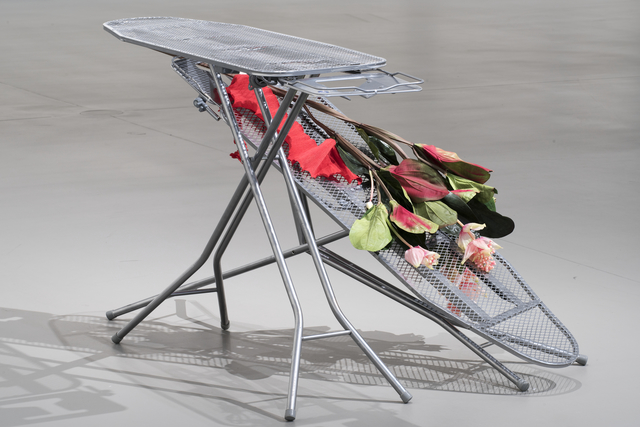 , 'Zwei Bügelbretter,' 2008, Fondation Louis Vuitton