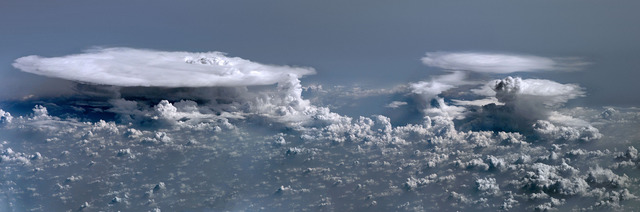 , 'Clouds over Senegal and Mali, ISS 016 Crew, February 5, 2008,' 2012, La Napoule Art Foundation