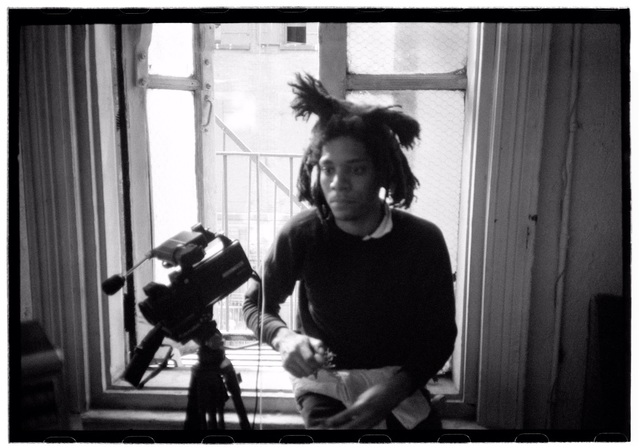 , 'Basquiat with video camera,' 1983, Galerie Peter Sillem