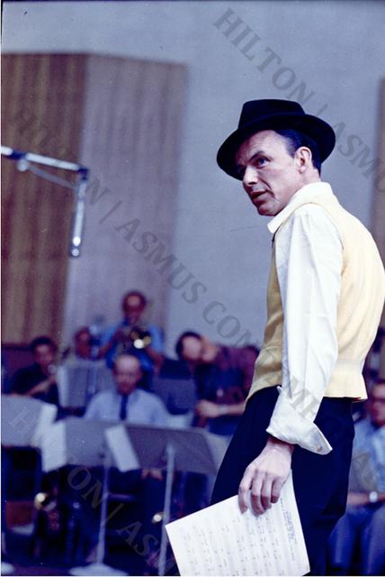 , 'Frank Sinatra - A Swingin' Affair,' 1956, Hilton Asmus