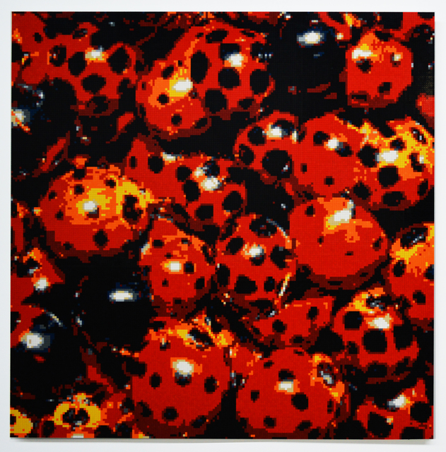 , 'Ladybugs,' 2016, Olga Korper Gallery