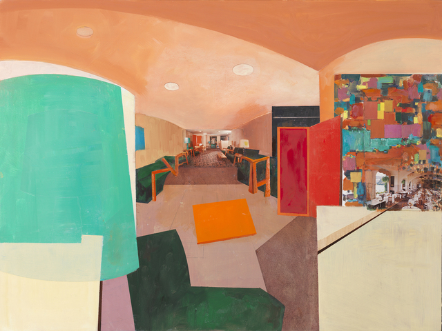 , 'Lobby Abstract,' 2015, Sperone Westwater