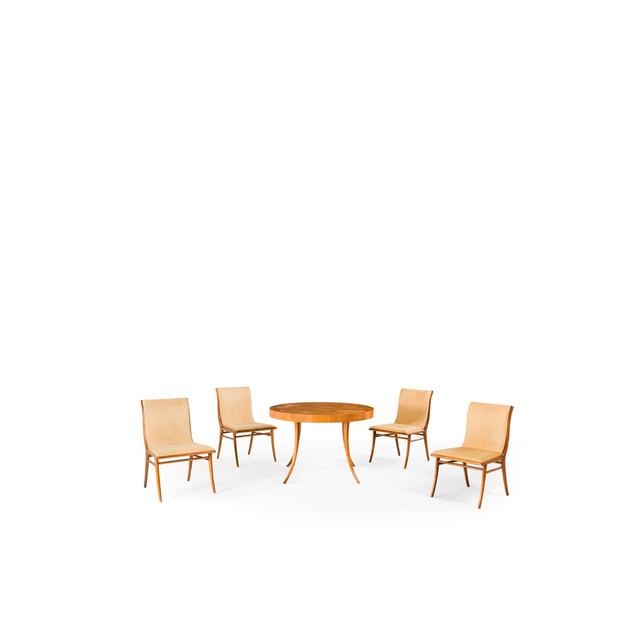 Terence Harold Robsjohn-Gibbings, 'Klismos, Extending Table And Four Chairs', circa 1955, PIASA