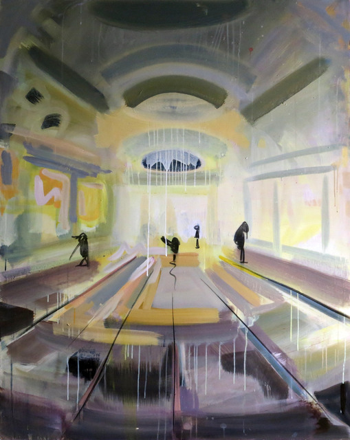, 'Yellow Mall,' 2014, Paul Stolper Gallery