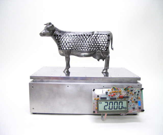 , '2kg Cow,' 2004, Tezukayama Gallery