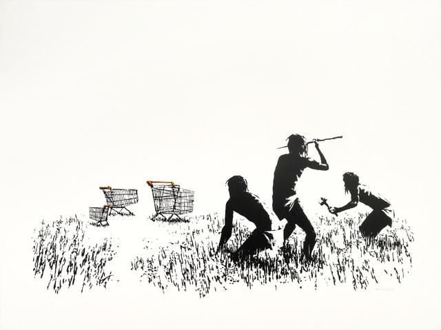 Banksy, 'Trolley Hunters (Unsigned)', 2006, Prescription Art