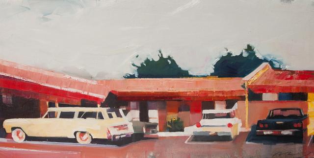 , 'Howard Johnson's Parking Lot,' 2016, Susan Eley Fine Art
