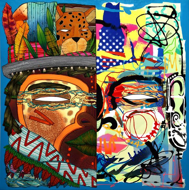 , 'Free man 1,' 2018, Galerie Artefact