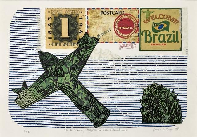 Yamilys Brito Jorge, 'De La Serie Cruzando el Cielo: Brasil (Crossing the Sky: Brazil)', 2018, Thomas Nickles Project