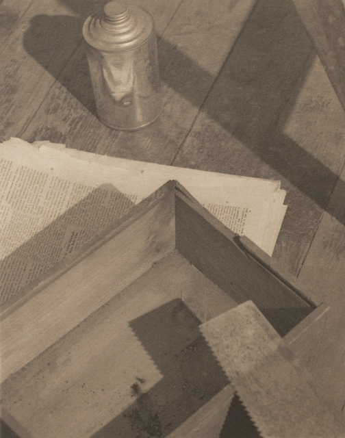 , 'Wooden Box with Saw,' 1923, Bruce Silverstein Gallery