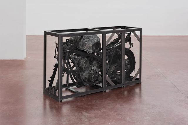, 'Untitled (Burnt CBF500),' 2016, Dvir Gallery