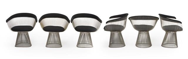 'Six Warren Platner for Knoll armchairs', John Moran Auctioneers